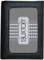 Buxton Mountaineer ID Leather Trifold Wallet
