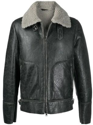 Salvatore Santoro Contrast-Collar Jacket