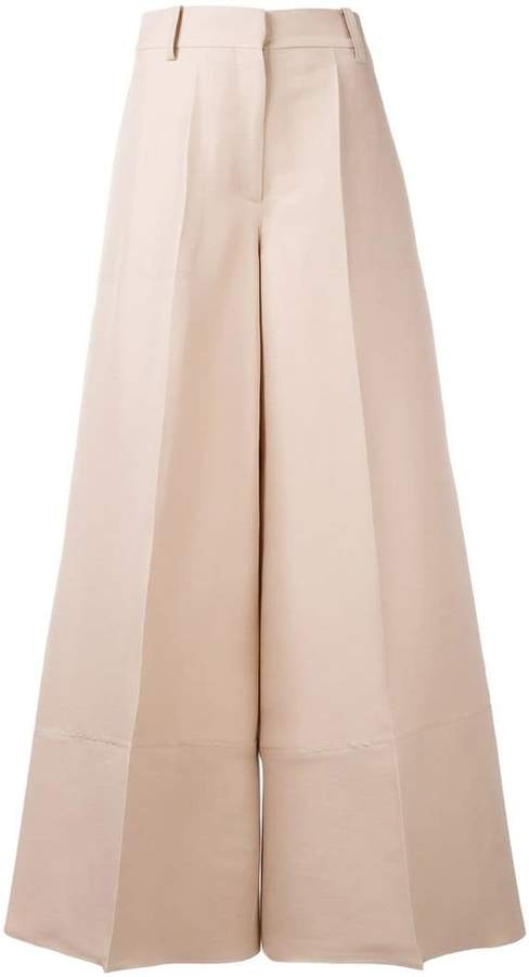 Valentino high-waisted palazzo pants