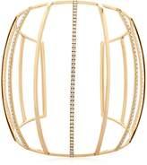 Dauphin 3 Strands Diamond Cuff Bracelet