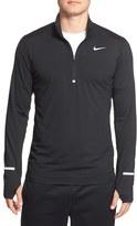 Nike Men's 'Element' Dri-Fit Quarter Zip Running Top