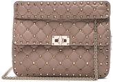 Valentino Quilted Rockstud Spike Medium Chain Bag