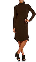 Eileen Fisher Turtleneck Long Sleeves Dress