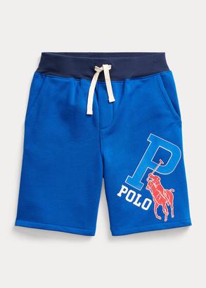 Ralph Lauren Big Pony Fleece Pull-On Short
