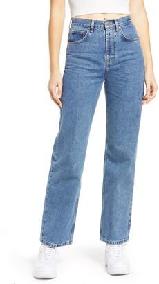 High Waist Runway Jeans