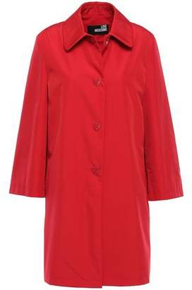 Love Moschino Button-embellished Shell Coat