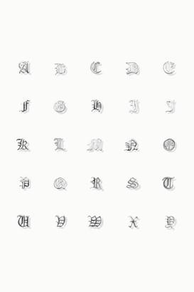 Meadowlark - Alphabet Silver Earring