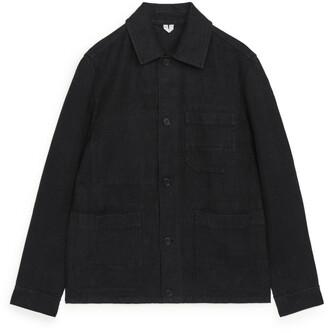 Arket Heavyweight Linen Overshirt