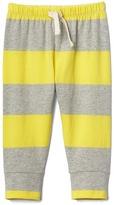 Gap Print stretch jersey pants