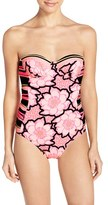 Ted Baker Women's 'Marjas - Tribal Print' One-Piece Swimsuit
