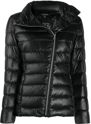 Lauren Ralph Lauren Off-Centre Zip Padded Jacket