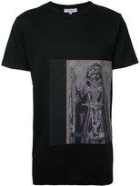 Les Benjamins striped photo print T-shirt - men - Cotton - XXL