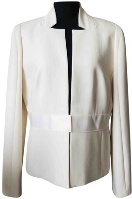 Amanda Wakeley Ecru Jacket for Women