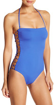 Trina Turk Riviera Bandeau One-Piece Swimsuit