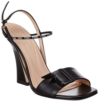 Fendi Ffreedom Leather Sandal