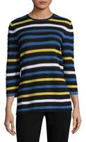 St. John Ombre Stripe Sweater