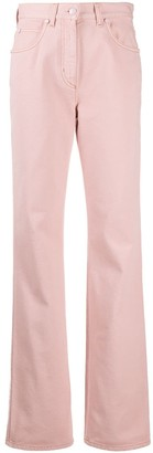 Fendi Straight-Leg Mid-Rise Jeans
