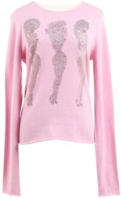 Lucien Pellat-Finet Lucien Pellat Finet Pink Cashmere Knitwear for Women