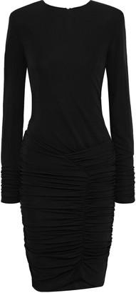 BA&SH Jamy Ruched Stretch-jersey Mini Dress