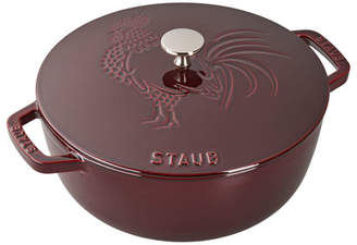 Staub 3.75-Qt. Essential French Oven Rooster with Lid Grenadine