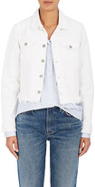 GRLFRND Women's Cara Distressed Crop Denim Jacket