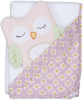 Baby Essentials Living Textiles Lolli Living Hooded Towel and Muslin Wrap Gift Set