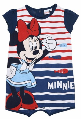 Disney Minnie Mouse Baby-Girls Rompers Navy