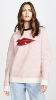 Bella Freud Hot Lips Mohair Sweater