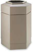 Bed Bath & Beyond 30-Gallon Hex Waste Container - Beige