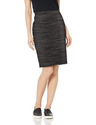 Amazon Brand - Daily Ritual Women's Terry Cotton and Modal Pencil Skirt