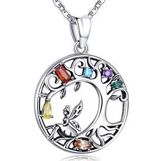Aniu Tree of Life Necklace for Women
