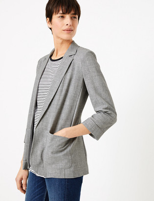 Marks and Spencer Relaxed Patch Pocket Jacket