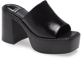 Jeffrey Campbell Concert Platform Slide Sandal