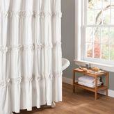 Bed Bath & Beyond Darla Shower Curtain in White
