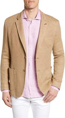 Bugatchi Regular Fit Cotton & Linen Blazer