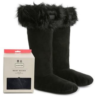 Hunter Tall Faux Fur Women's Boot Socks