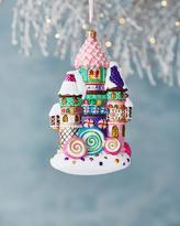 Christopher Radko Candy Castle Christmas Ornament