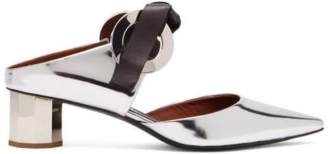 b336b7f25a8b Silver Mules - ShopStyle