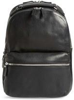 Shinola Men's Runwell Leather Laptop Backpack - Black