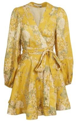 Zimmermann Amelie Wrap Dress