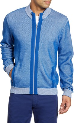 Robert Graham Conboy Regular Fit Zip Sweater