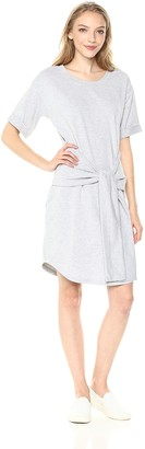 MinkPink Women's Tie Front Knit Dress