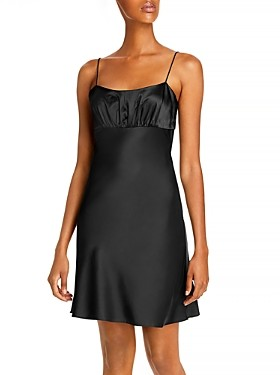 Aqua Spaghetti Strap Mini Dress - 100% Exclusive