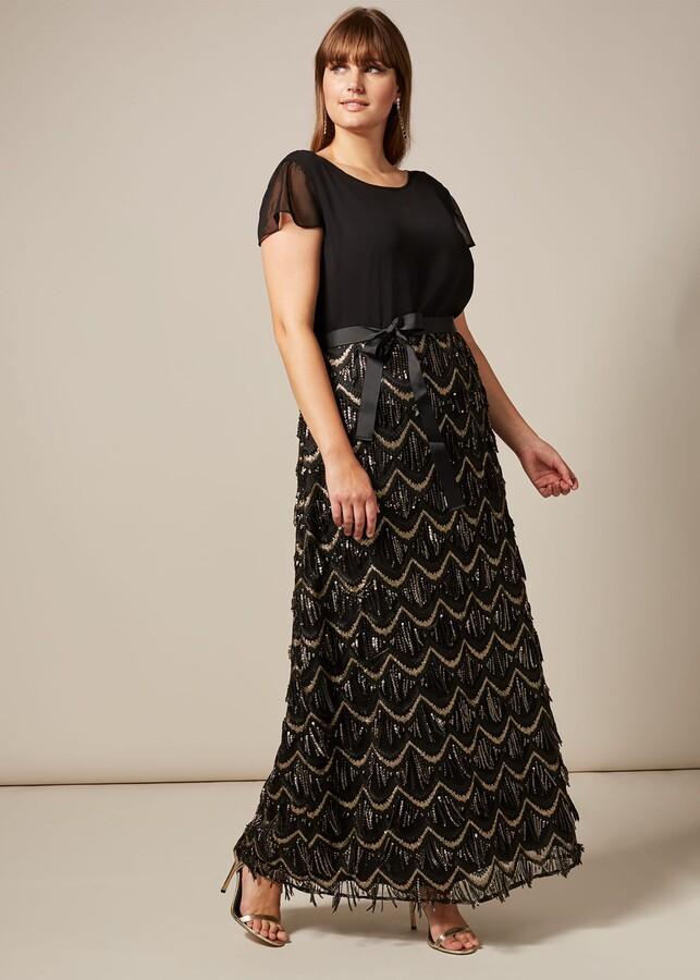 Phase Eight Hazel Sequin Maxi Dress