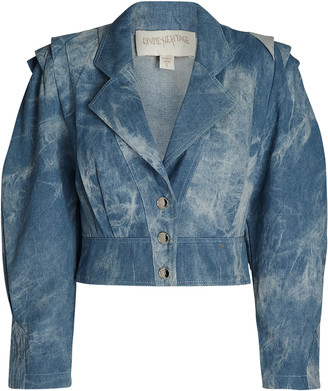 Divine Heritage Tie-Dye Denim Jacket