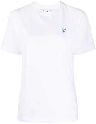 Off-White embroidered logo short-sleeve T-shirt
