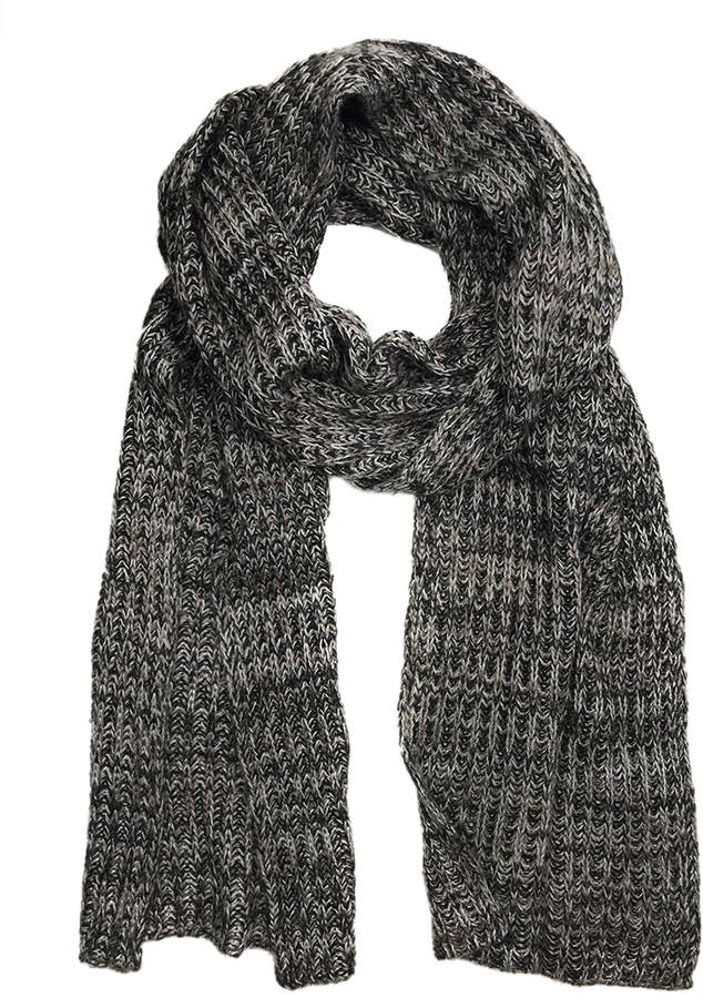 a5ceb7f04cfd5 Charcoal Knit Scarf - ShopStyle Canada
