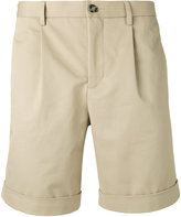 Éditions M.R - pleated shorts - men - Cotton - 44