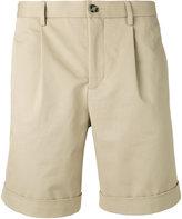 Éditions M.R - pleated shorts - men - Cotton - 48