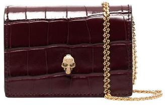 Alexander McQueen Leather Credit Card Holder